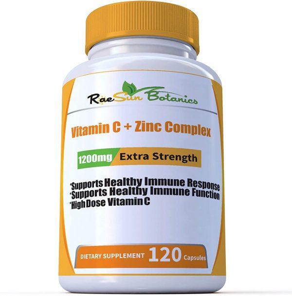 Vitamin C + Zinc Complex Supplement