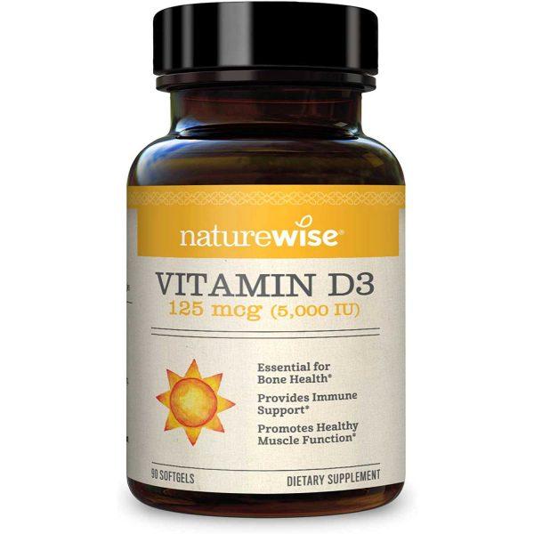 Vitamin D3, 5000 IU