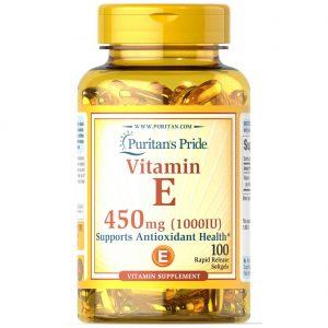 Vitamin E Supplement 450 Mg
