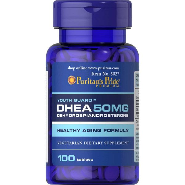 DHEA Supplement 50 MG (Dehydroepiandrosterone)