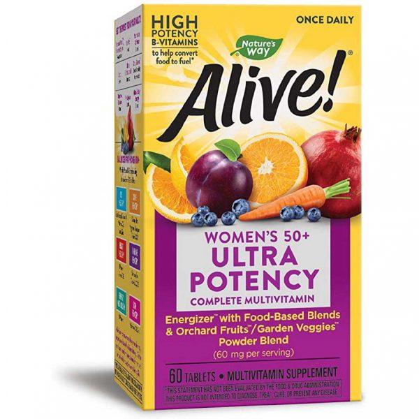 Women's 50+ Ultra Potency Supplement Facts